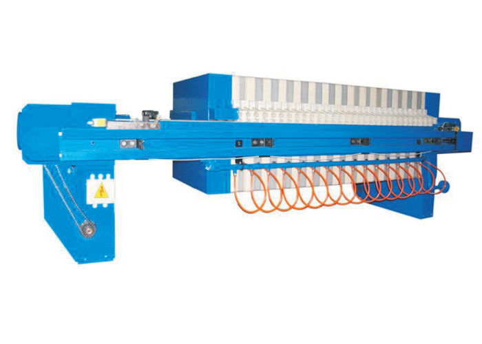 Polypropylene High Pressure Plate And Frame Fully Automatic Filter Press For Sludge Dehydrator Membrane Type