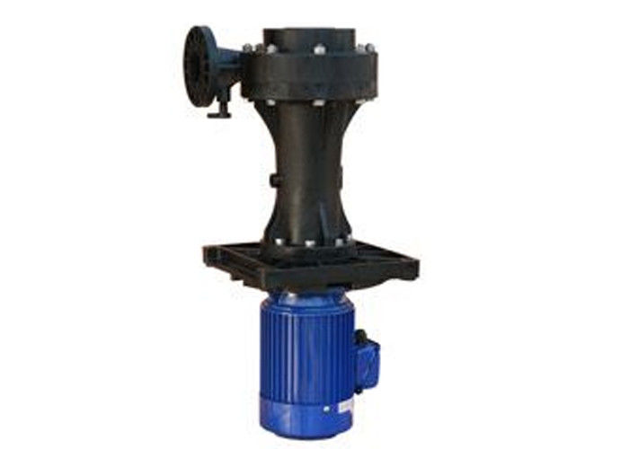 Vertical Chemical Pump Industrial Filtration Systems With Anti Corrosion FRPP PVDF Material