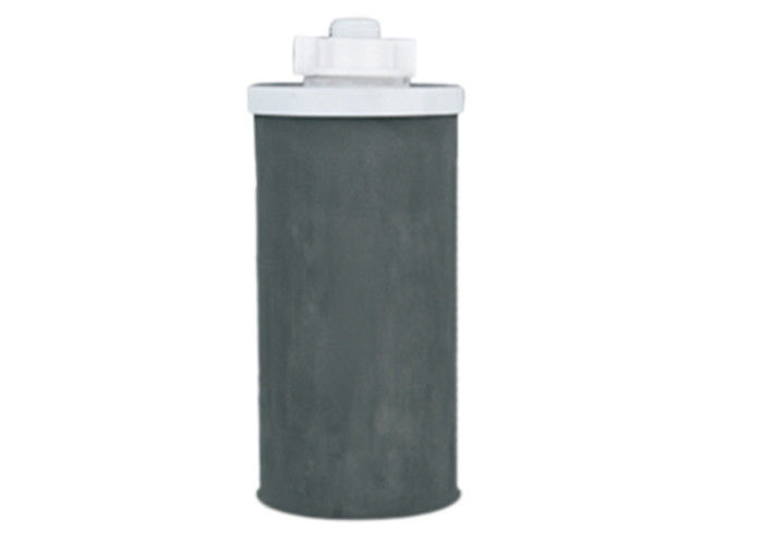"High Filtration Precision Plug In Sintered CTO Filter Cartridge , Dia 4.5"" Length 10"" / 20"""