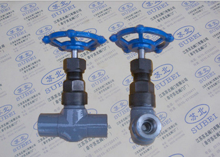 Female wrought gate valve for steam & natural gas steam transfer PN16 Mpa PN80 Mpa DN10 - DN25